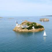île Louët et Château du taureau Baie de Morlaix