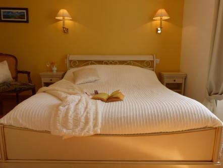 photographie de la chambre d'hôtes nommée Blandices